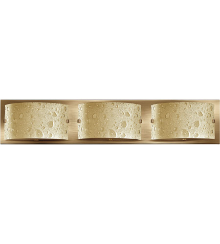 Hinkley Lighting Daphne 3 Light Bath Vanity in Brushed Bronze 5923BR