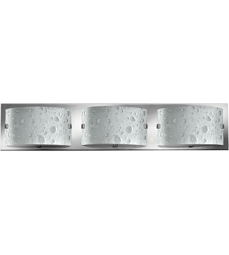 Hinkley 5923CM-LED2 Daphne LED 24 inch Chrome Bath Light Wall Light, Bubble Art Glass photo
