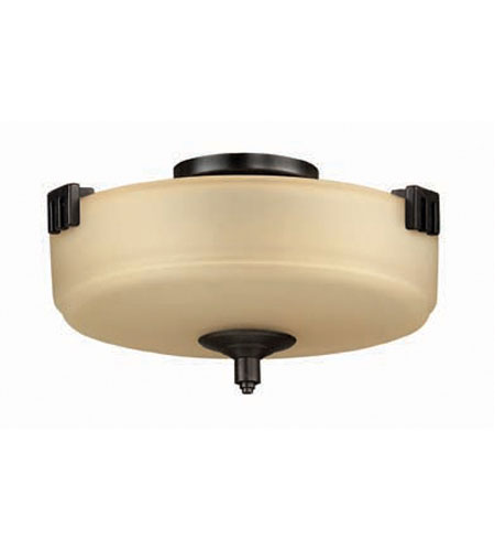 Hinkley Tahoe Semi Flush 2Lt Foyer in Regency Bronze 5940RB