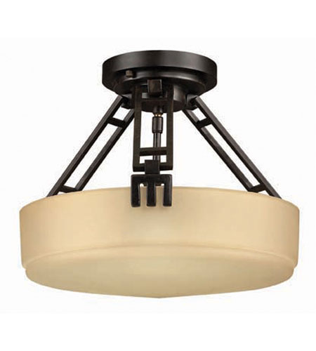 Hinkley Tahoe Semi Flush 3Lt Foyer in Regency Bronze 5941RB photo