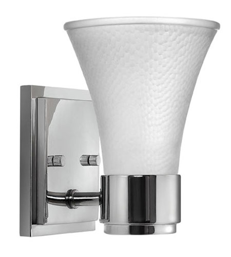 Hinkley Lighting Zoe 1 Light Bath Vanity in Chrome 5980CM