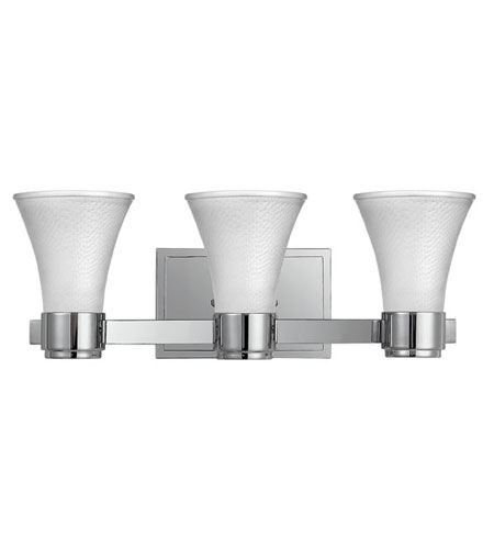 Hinkley Lighting Zoe 3 Light Bath Vanity in Chrome 5983CM