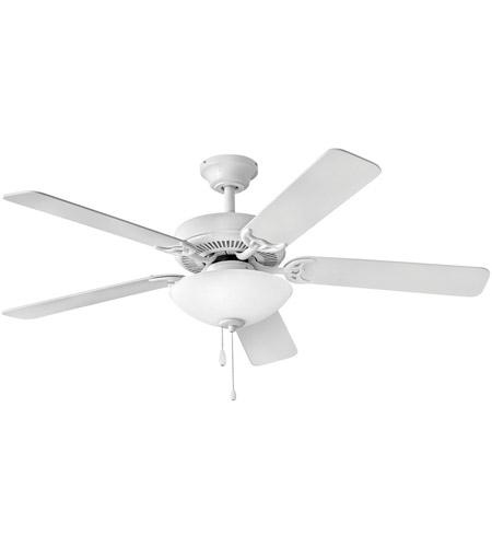 Hinkley 901752faw Lid Propel Illuminated 52 Inch Appliance White Ceiling Fan In Yes Regency Series