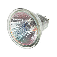 Hinkley 0016W20 Signature 12V 20 watt Landscape Bulb in 20W, Wide Flood, Low Volt, MR16 Halogen