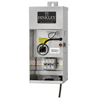 Hinkley 0150SS Signature 120V 150 watt Stainless Steel Landscape Transformer, 12V-15V Multi-Tap Outputs