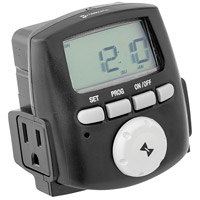 Hinkley 0200LT Signature 12 Landscape Digital Time Clock