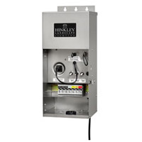 Hinkley 0900SS Signature 120V 900 watt Stainless Steel Landscape Transformer, 12V-15V Multi-Tap Outputs, Low Volt