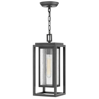 Hinkley 1002OZ Republic 1 Light 7 inch Oil Rubbed Bronze Outdoor Hanging, Coastal Elements