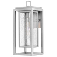 Hinkley 1004SI Republic 1 Light 16 inch Satin Nickel Outdoor Wall Mount, Coastal Elements