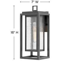 Hinkley 1004OZ Republic 1 Light 16 inch Oil Rubbed Bronze Outdoor Wall Mount, Coastal Elements  alternative photo thumbnail