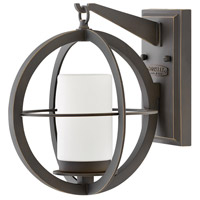 Hinkley 1010OZ Compass 1 Light 12 inch Oil Rubbed Bronze Outdoor Wall Mount, Small