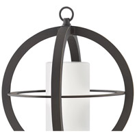 Hinkley 1011OZ Compass 1 Light 17 inch Oil Rubbed Bronze Outdoor Post Mount Lantern alternative photo thumbnail