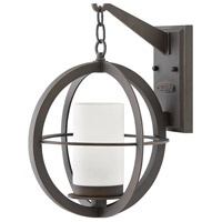 Hinkley 1014OZ Compass 1 Light 16 inch Oil Rubbed Bronze Outdoor Wall Mount, Medium