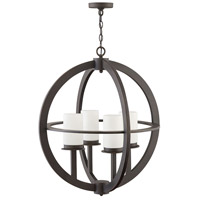 Hinkley 1018OZ Compass 4 Light 26 inch Oil Rubbed Bronze Outdoor Chandelier Open Air