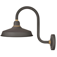 Hinkley 10362MR Foundry Classic 1 Light 17 inch Museum Bronze/Brass Outdoor Wall Mount