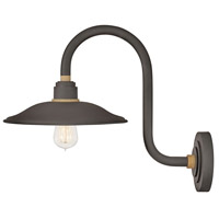 Hinkley 10766MR Foundry Vintage 1 Light 17 inch Museum Bronze/Brass Outdoor Wall Mount
