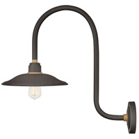 Hinkley 10776MR Foundry Vintage 1 Light 23 inch Museum Bronze/Brass Outdoor Wall Mount