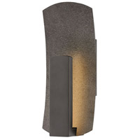 Hinkley 1100BZ Bend LED 14 inch Bronze Outdoor Wall Mount, Small photo thumbnail
