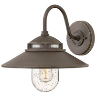 Atwell 1 Light 12 inch Oil Rubbed Bronze Outdoor Wall Mount, Open Air