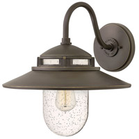 Hinkley 1114OZ Atwell 1 Light 15 inch Oil Rubbed Bronze Outdoor Wall Mount, Open Air