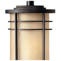 Hinkley 1121MR Ledgewood 1 Light 21 inch Museum Bronze Outdoor Post Mount in Champagne Inside-Etched, Incandescent, Post Sold Separately alternative photo thumbnail