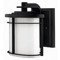 Hinkley Lighting Ledgewood 1 Light Outdoor Wall Lantern in Vintage Black 1126VK-EST photo thumbnail