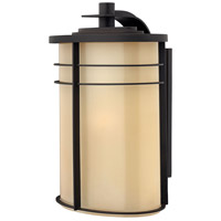 Hinkley 1129MR Ledgewood 1 Light 20 inch Museum Bronze Outdoor Wall Lantern in Champagne Inside-Etched, Incandescent