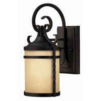 Hinkley Lighting Casa 1 Light Outdoor Wall Lantern in Olde Black 1144OL-ESDS