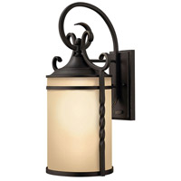 Hinkley Lighting Casa 1 Light Outdoor Wall Lantern in Olde Black 1145OL
