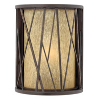 Hinkley Lighting Elm 1 Light Outdoor Wall Lantern in Regency Bronze 1150RB-LED