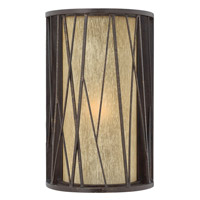 Elm 1 Light 14 inch Regency Bronze Outdoor Wall Lantern in Incandescent