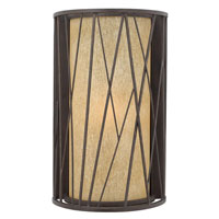Hinkley Lighting Elm 1 Light Outdoor Wall Lantern in Regency Bronze 1155RB-ES