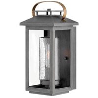 Hinkley 1160AH Atwater 1 Light 14 inch Ash Bronze Outdoor Wall Mount, Coastal Elements