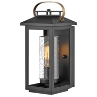 Hinkley 1160BK Atwater 1 Light 14 inch Black Outdoor Wall Mount, Coastal Elements