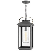 Hinkley 1162AH Atwater 1 Light 10 inch Ash Bronze Outdoor Hanging, Coastal Elements