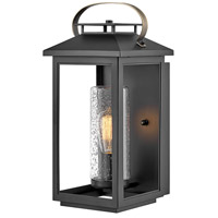 Hinkley 1164BK Atwater 1 Light 18 inch Black Outdoor Wall Mount, Coastal Elements