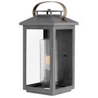 Hinkley 1165AH Atwater 1 Light 21 inch Ash Bronze Outdoor Wall Mount Coastal Elements