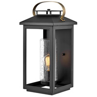 Hinkley 1165BK Atwater 1 Light 21 inch Black Outdoor Wall Mount, Coastal Elements