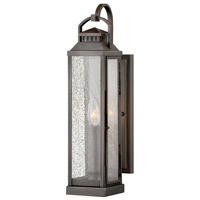 Hinkley 1180BLB Revere 1 Light 17 inch Blackened Brass Outdoor Wall Mount
