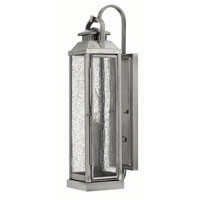 Hinkley Lighting Revere 1 Light Outdoor Wall in Pewter 1180PW photo thumbnail