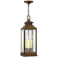 Hinkley Lighting Revere 3 Light Outdoor Hanging Lantern in Sienna 1182SN