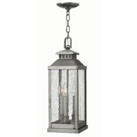 Hinkley Lighting Revere 3 Light Outdoor Hanger in Pewter 1182PW photo thumbnail