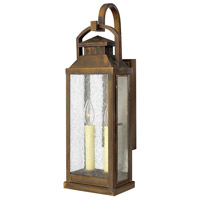 Hinkley 1184SN Revere 2 Light 22 inch Sienna Outdoor Wall Lantern