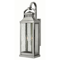 Hinkley Lighting Revere 2 Light Outdoor Wall in Pewter 1184PW
