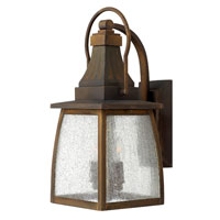 Hinkley Lighting Montauk 1 Light Outdoor Wall Mount in Sienna 1200SN-ES photo thumbnail