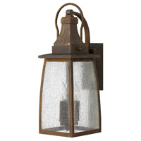 Hinkley Lighting Montauk 1 Light Outdoor Wall Mount in Sienna 1204SN-ES photo thumbnail