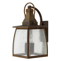 Hinkley Lighting Montauk 1 Light Outdoor Wall Mount in Sienna 1205SN-ES photo thumbnail