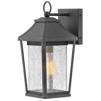 Palmer 1 Light 13 inch Museum Black Outdoor Wall Mount, Small