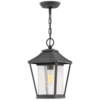 Hinkley 1212MB Palmer 1 Light 8 inch Museum Black Outdoor Hanging Lantern