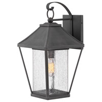 Palmer 1 Light 20 inch Museum Black Outdoor Wall Mount, Large